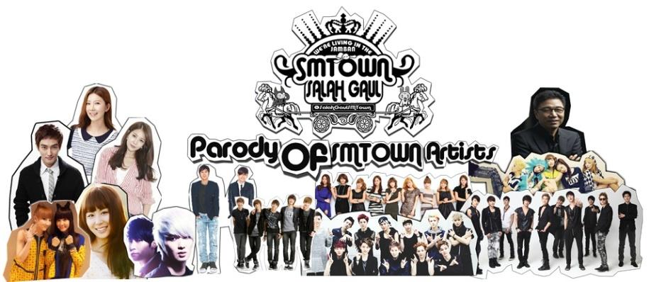 SMTown Salah gaul family